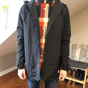 Water resistant spring/fall jacket